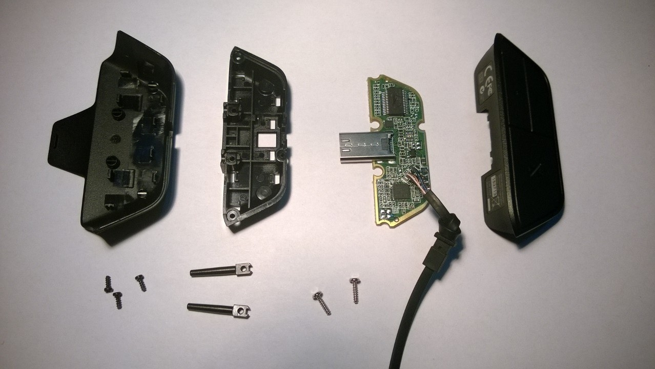 xbox one headset adapter diy damon pollard xbox one headset tear down